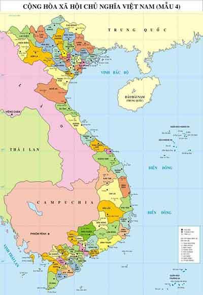 Une carte du Vietnam - ce dont vous avez besoin afin de réussir votre voyage